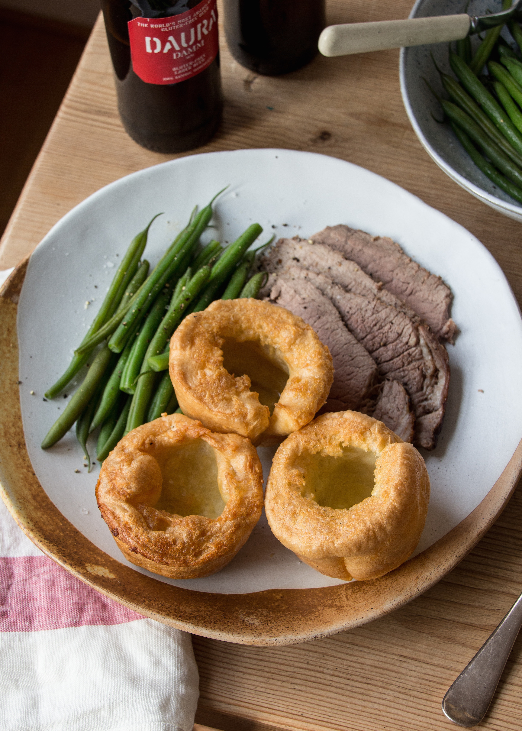 Daura Damm gluten free Yorkshire puddings
