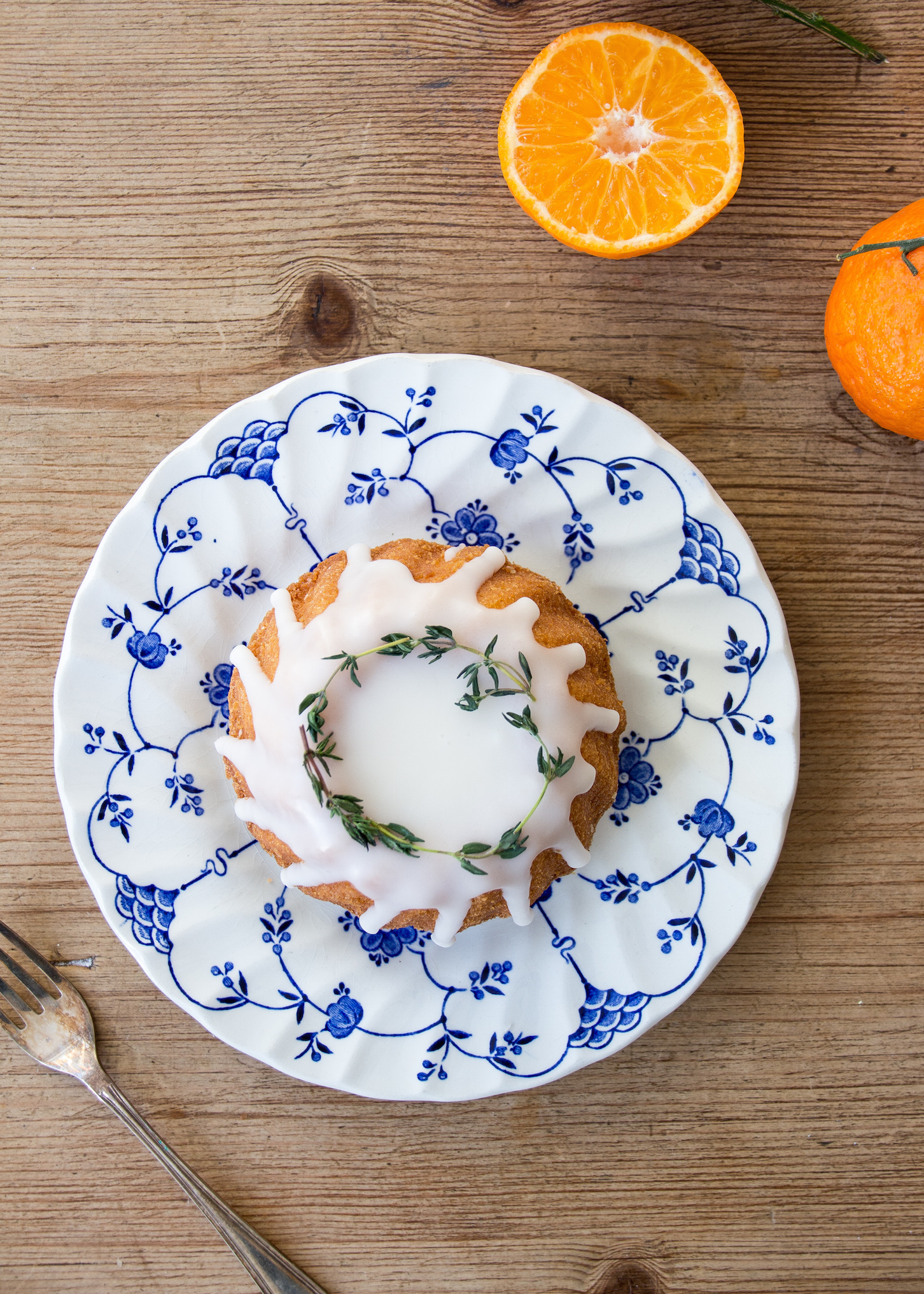 Clementine and almond mini bundt cakes low FODMAP