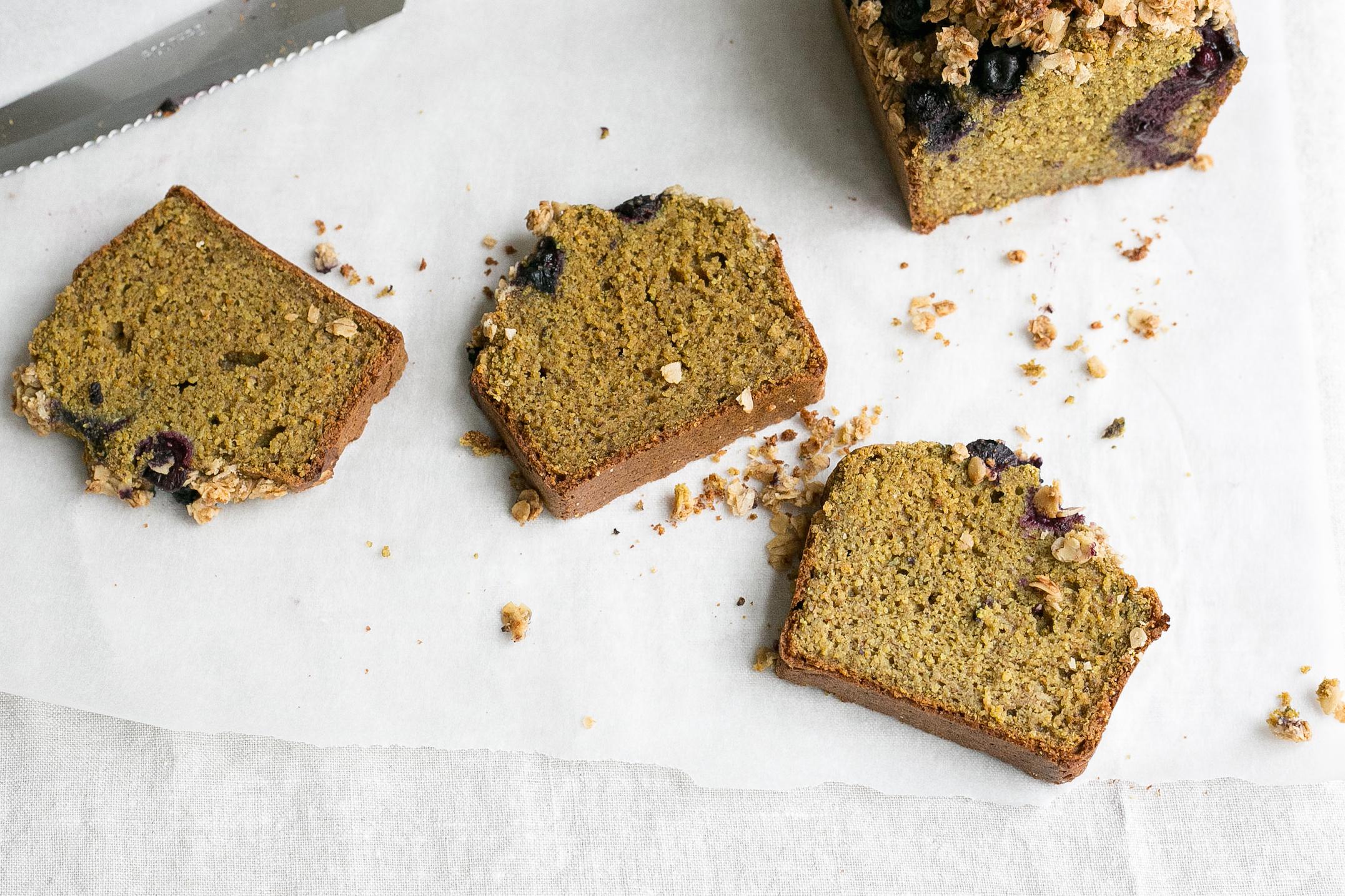 Gluten free breakfast loaf