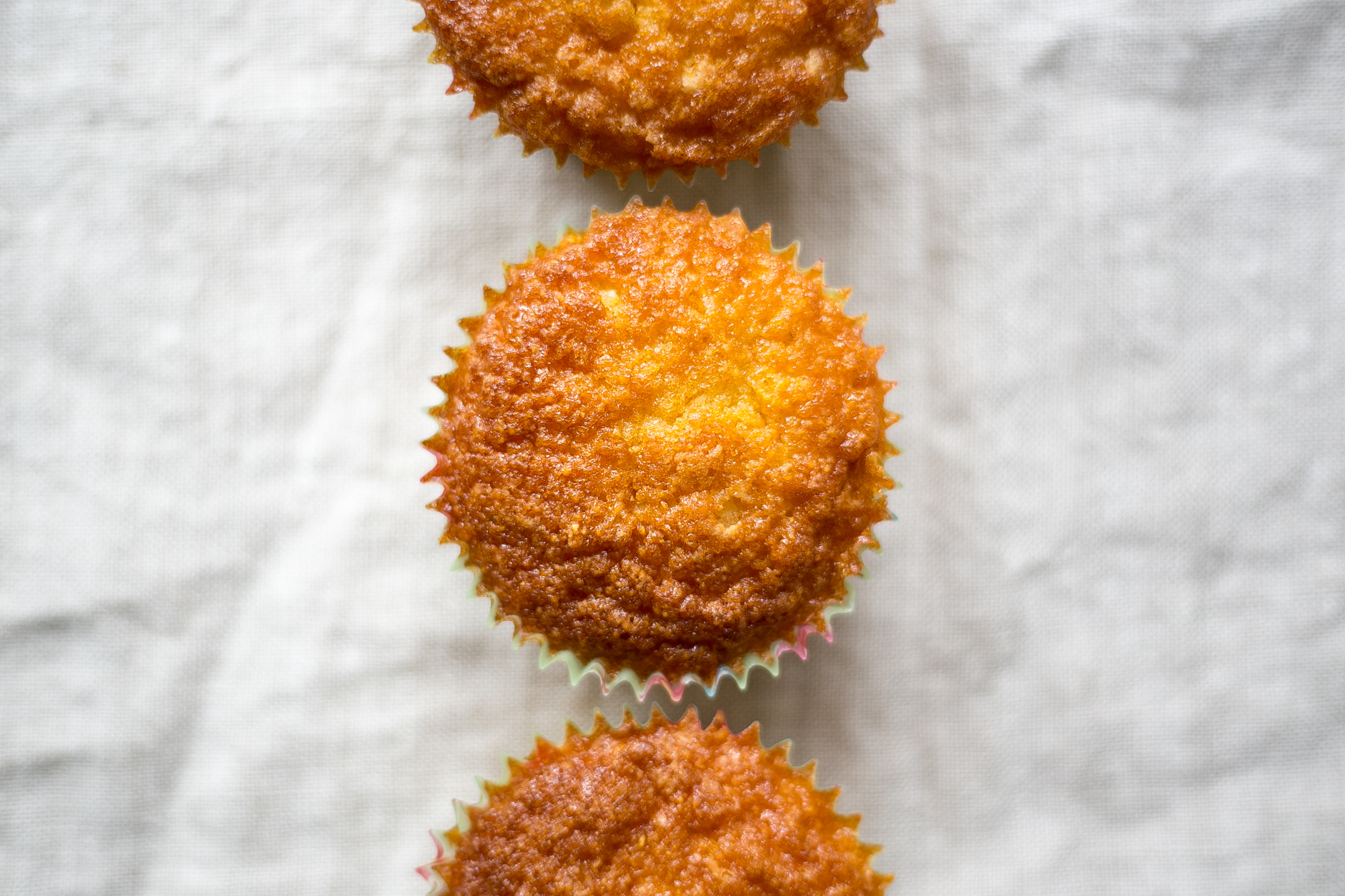 Low FODMAP orange and polenta muffins