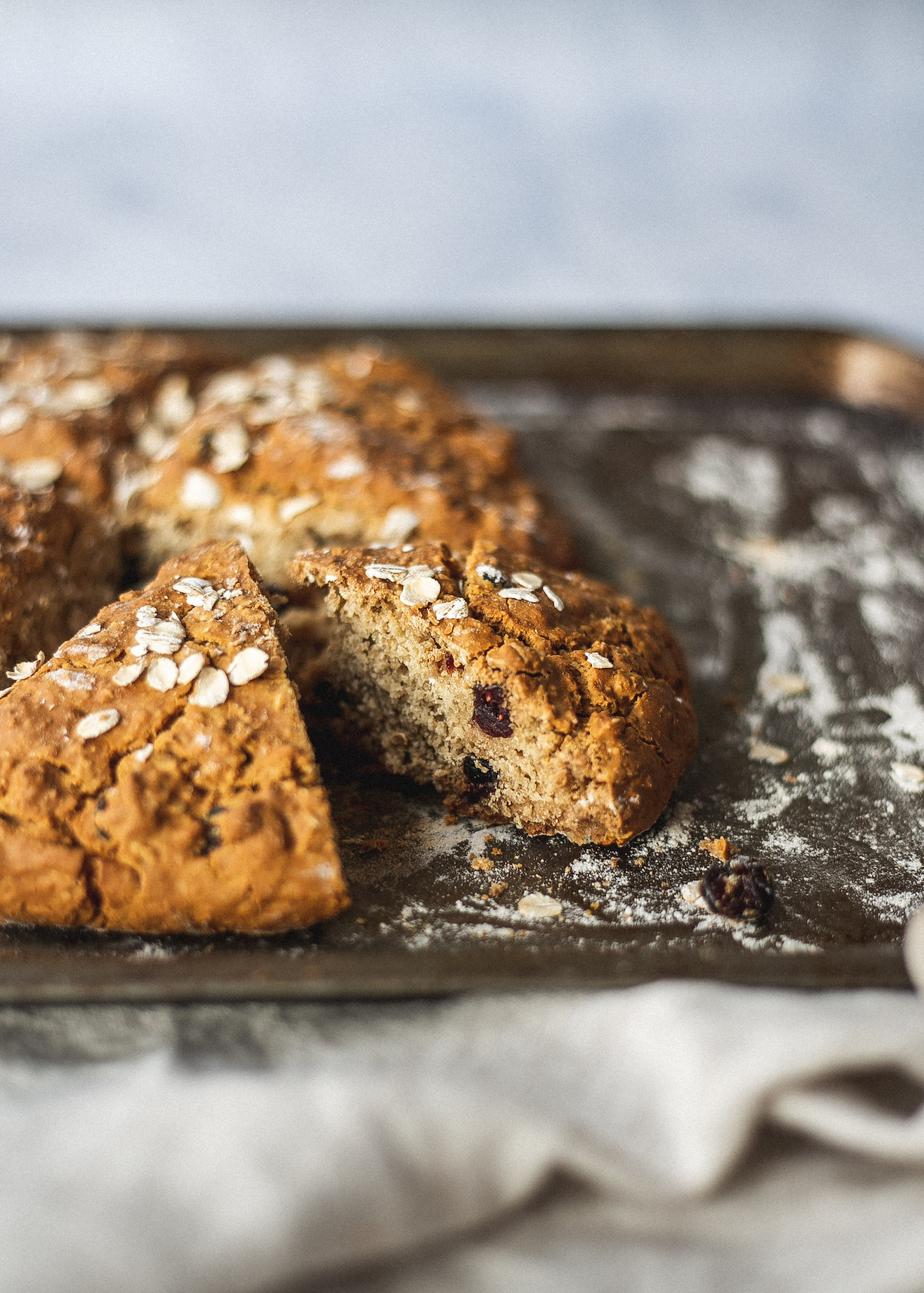 Low FODMAP soda bread