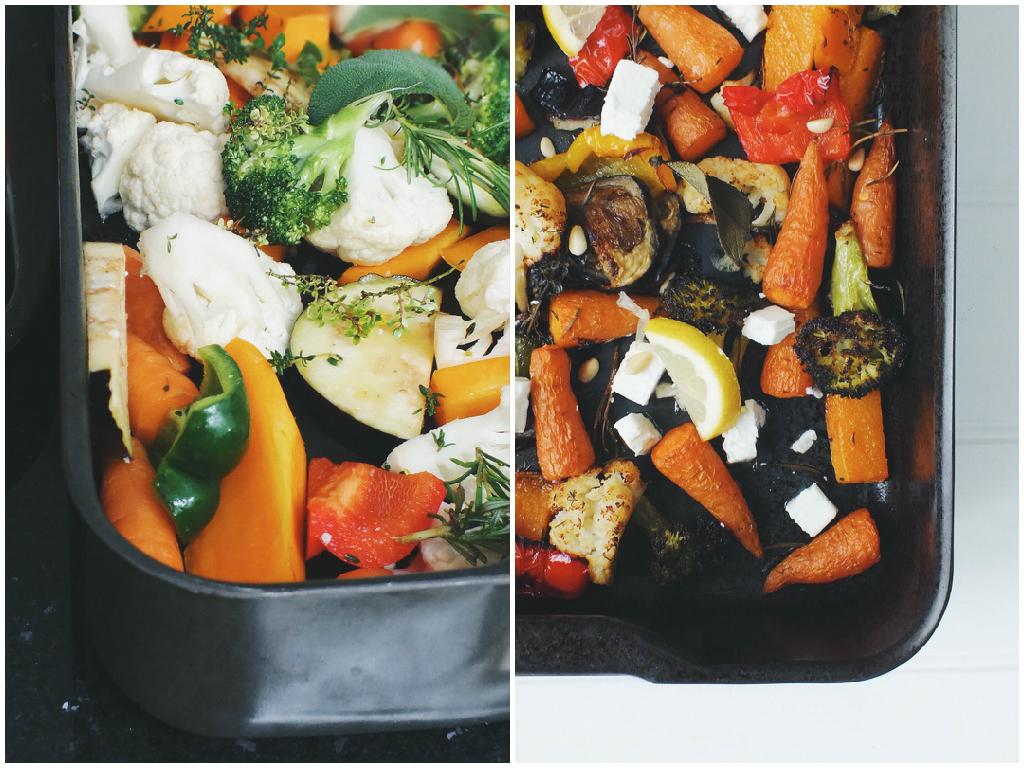 Low fodmap roasted vegetables