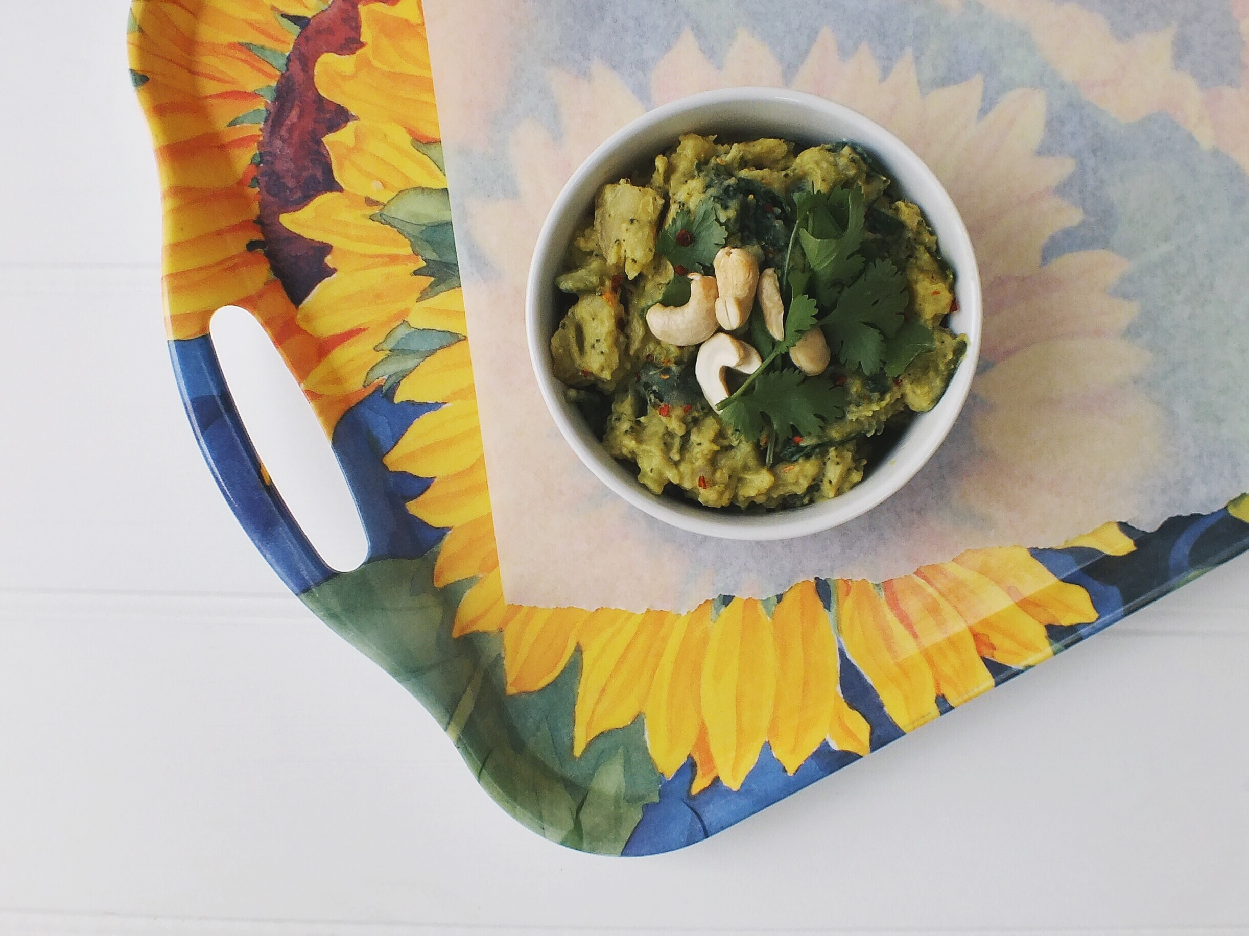 Green coconut curry low fodmap