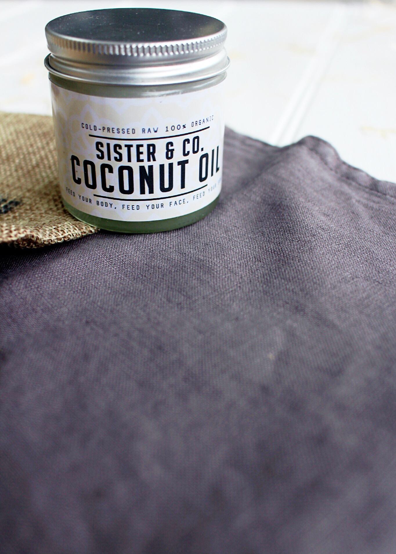 Sister & Co coconut oil