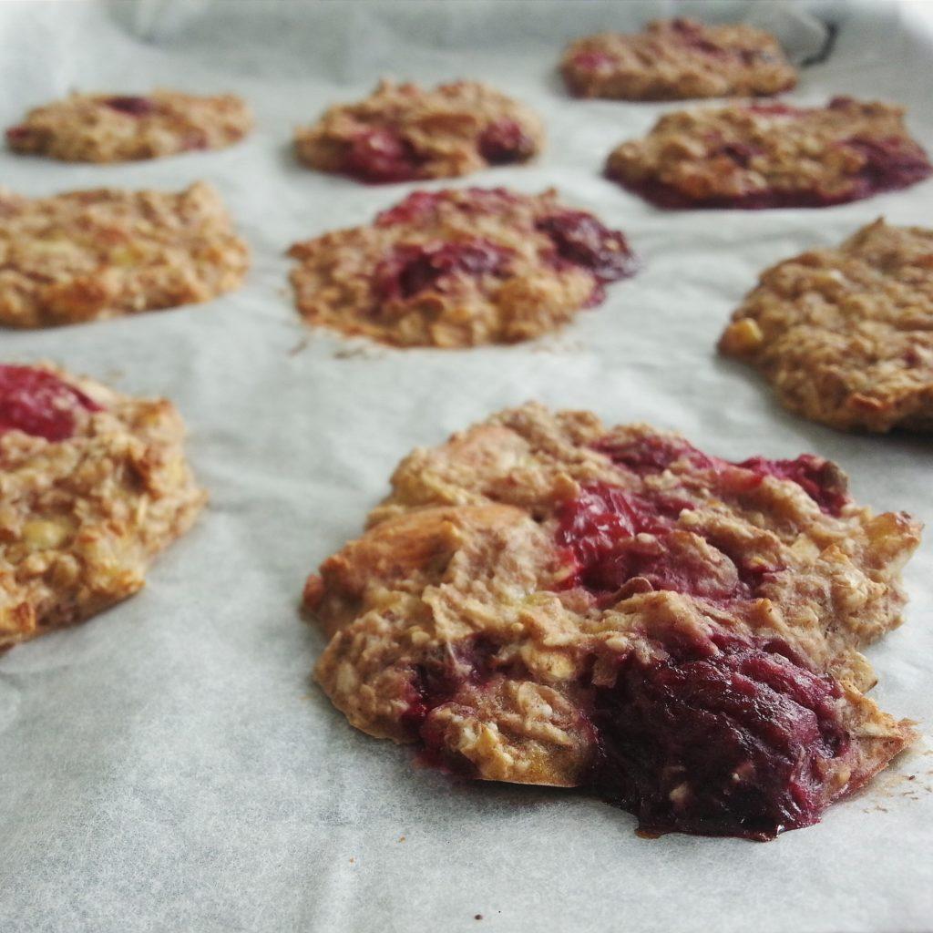 Gluten free vegan oat cookies