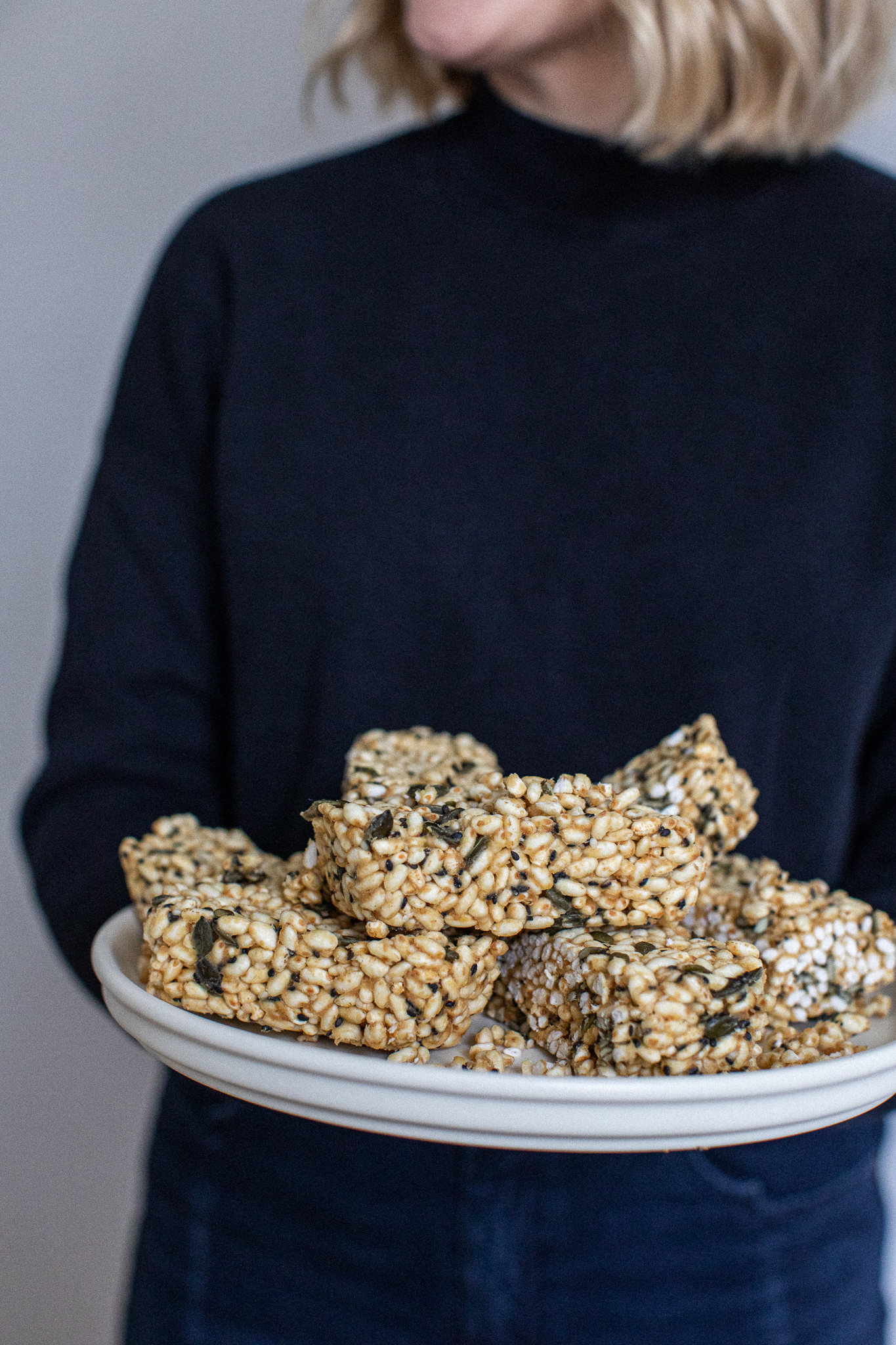 Low FODMAP rice crispy bars