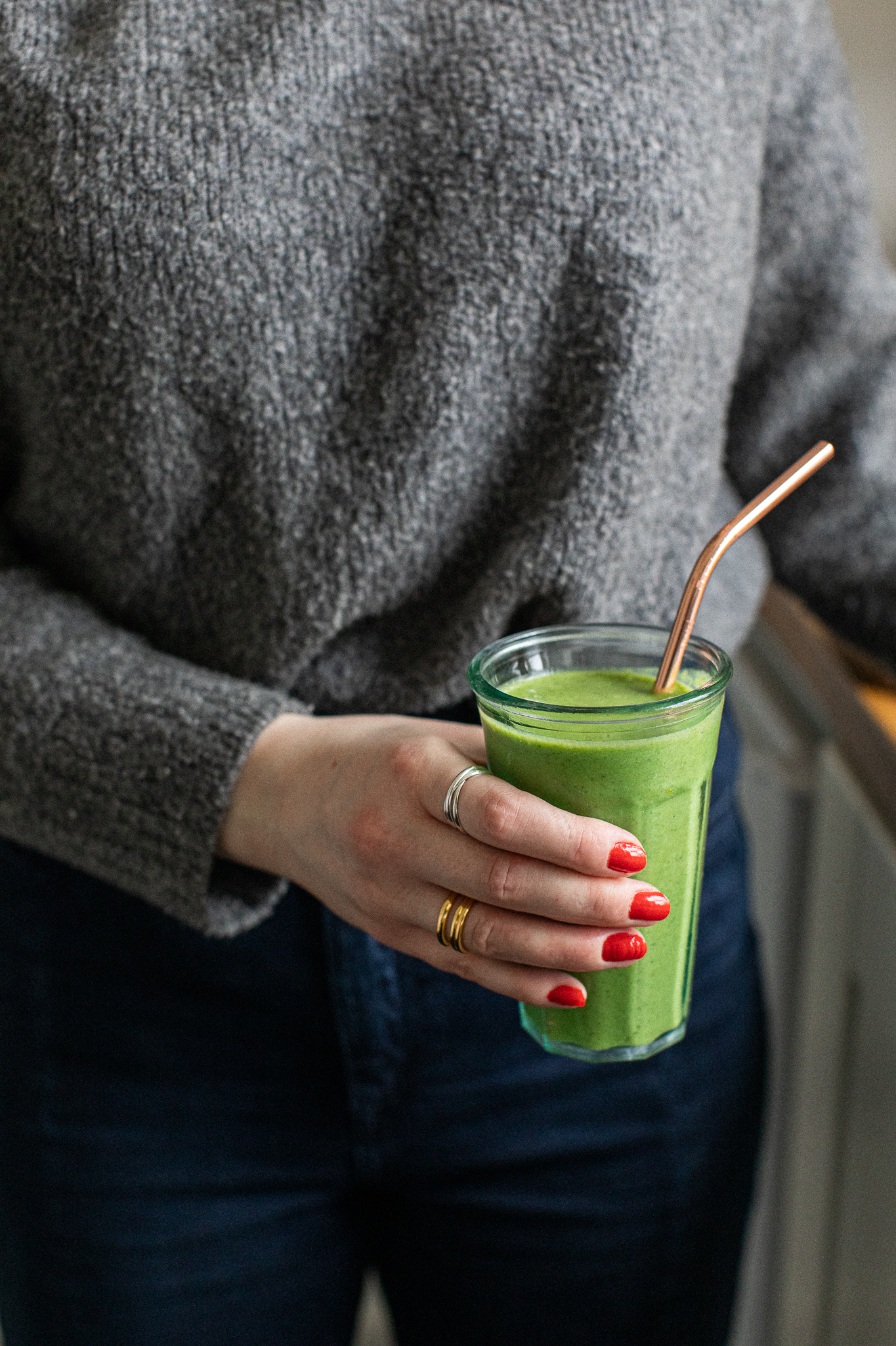 FODMAP friendly green smoothie