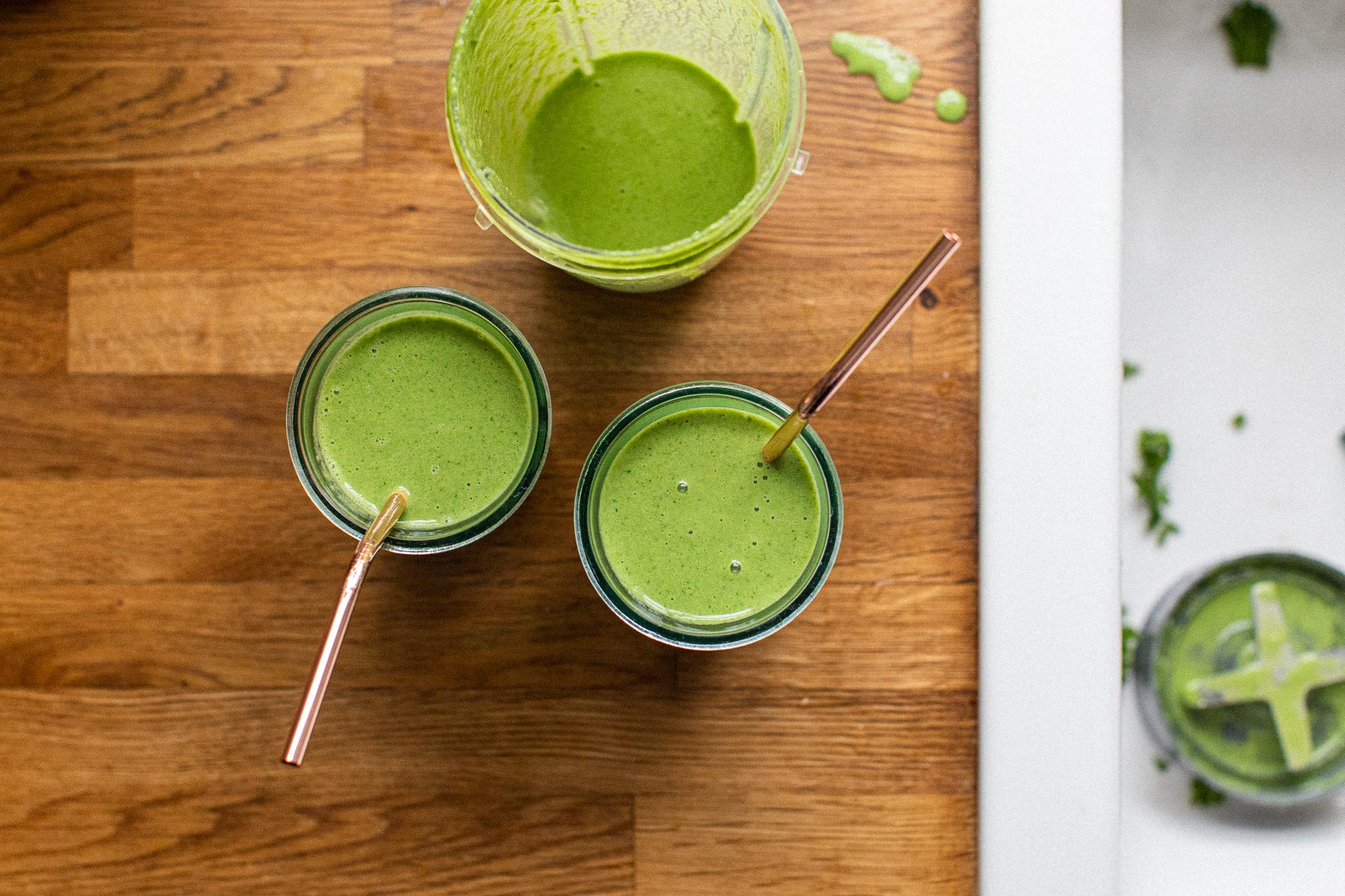 Low FODMAP green smoothie