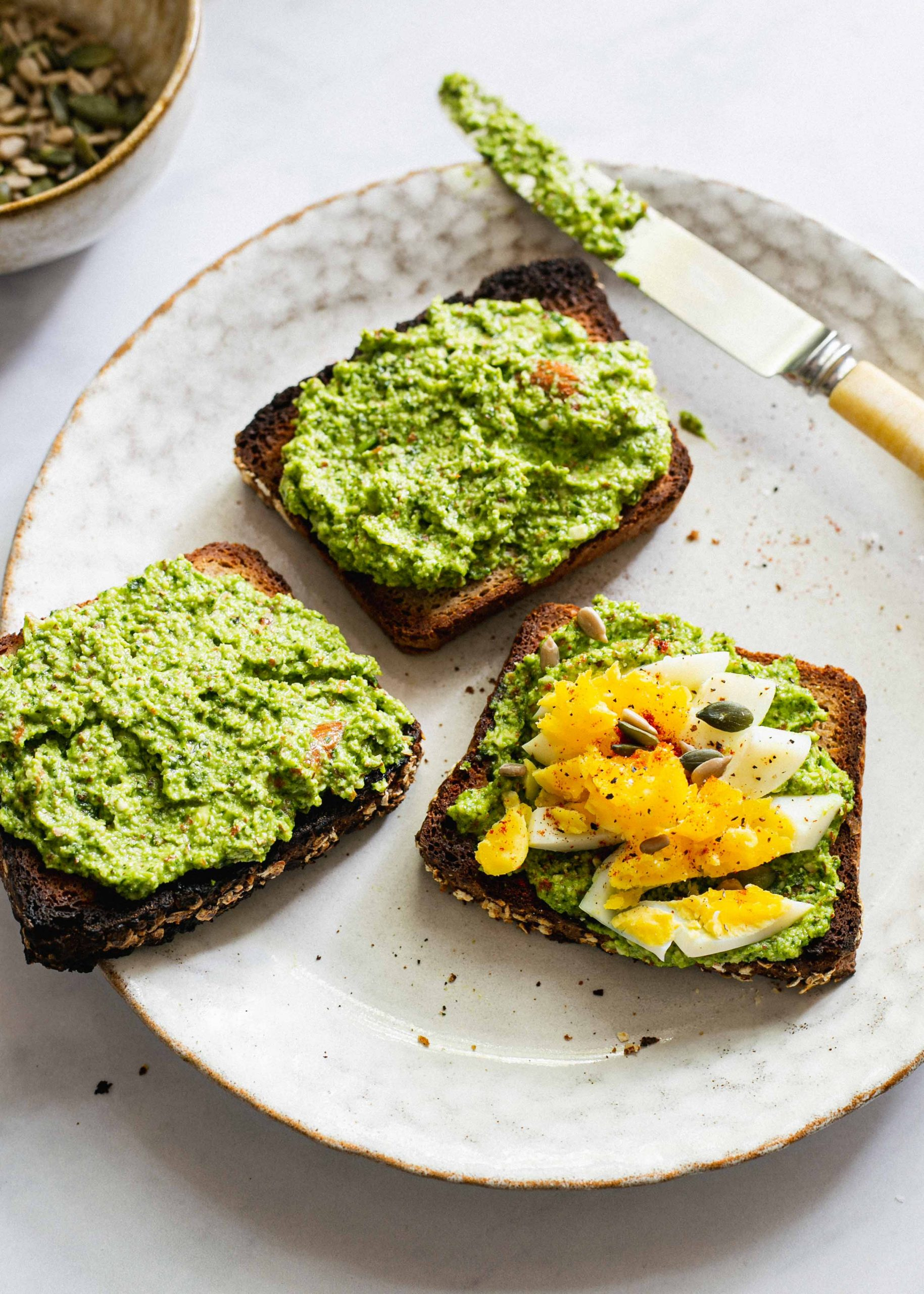 FODMAP friendly watercress pesto