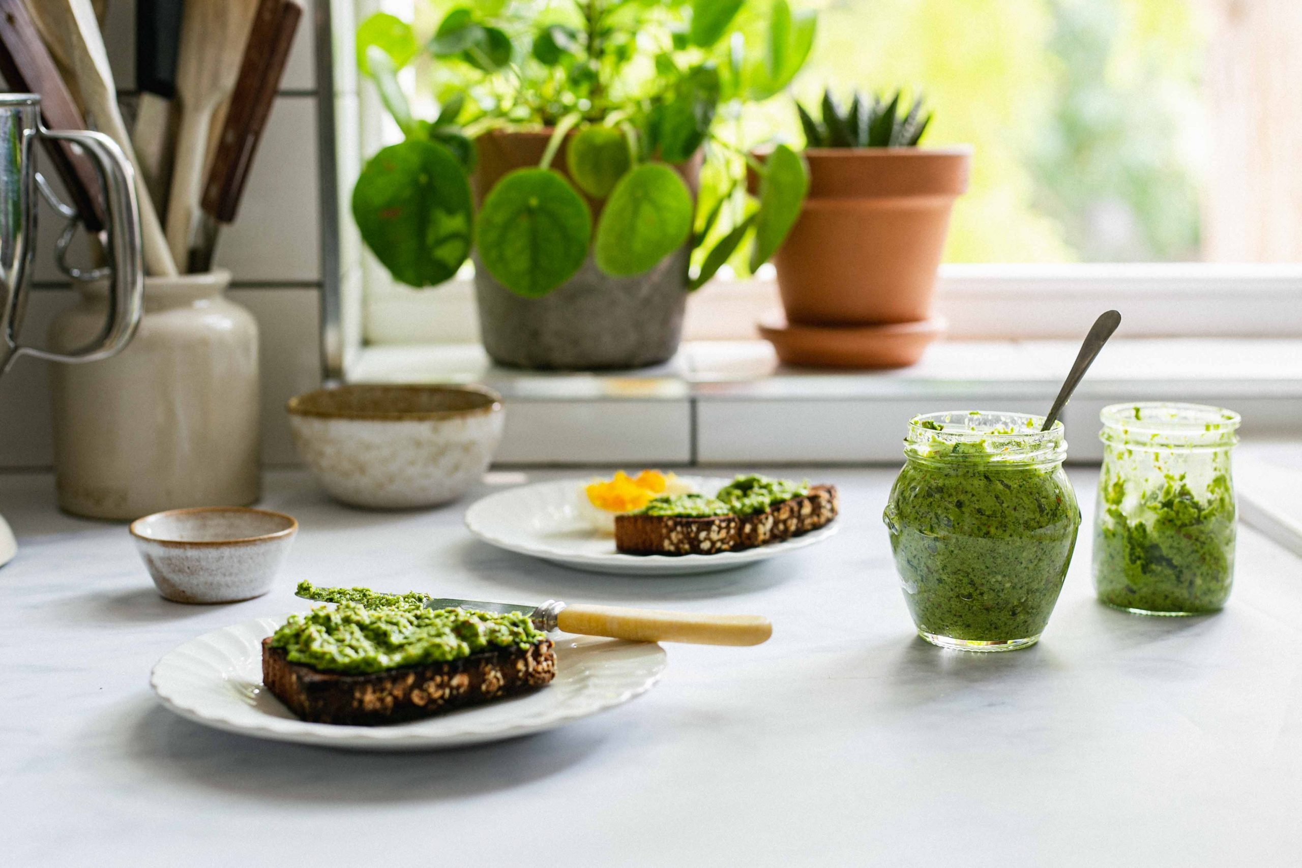 Low FODMAP watercress pesto