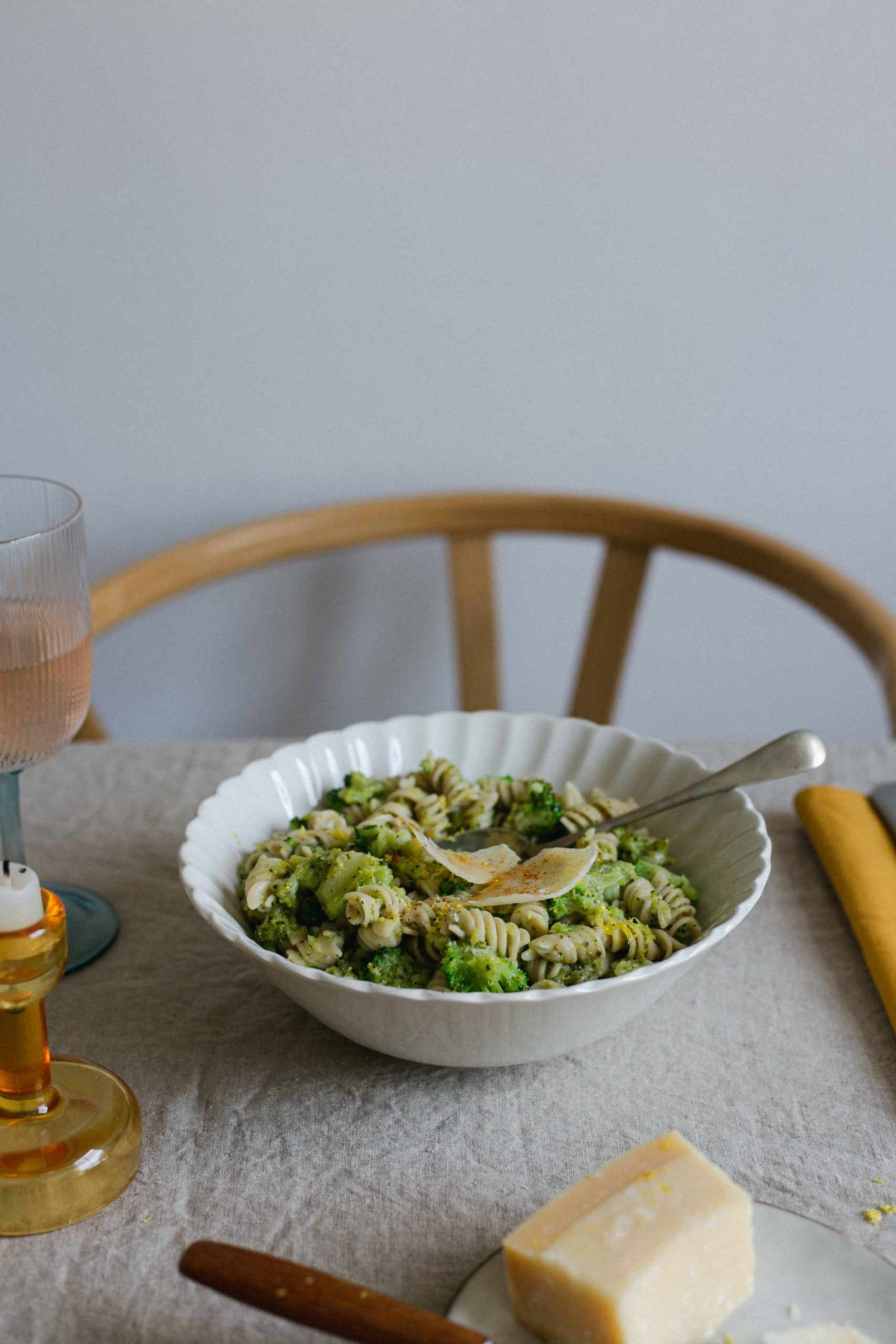 Low FODMAP broccoli pasta recipe