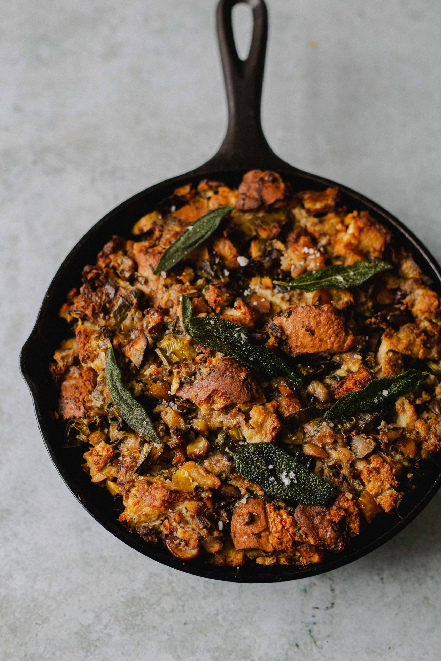 Low FODMAP stuffing pork chestnut sage